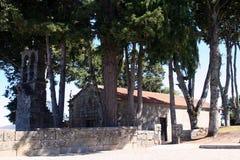 El churche de Santa Maria Do Castelo Foto de archivo