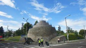 El Churo de Alameda es uno de los más viejos puntos de vista panorámicos que el centro histórico tiene Imagen de archivo