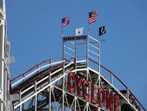 El ciclón 14 de Coney Island Fotografía de archivo libre de regalías