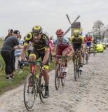 El ciclista Adrien Petit - París-Roubaix 2018 Imagen de archivo libre de regalías