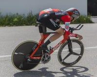 El ciclista Alessandro De Marchi - Criterium du Dauphine 2017 Foto de archivo libre de regalías