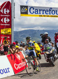 El ciclista australiano Simon Clarke Fotos de archivo