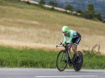 El ciclista Bauke Mollema Fotos de archivo