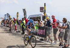 El ciclista Daniel Martin Imágenes de archivo libres de regalías