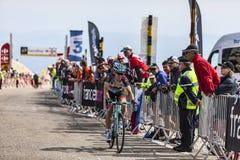 El ciclista Jan Bakelants Fotos de archivo libres de regalías
