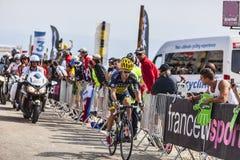 El ciclista Michael Rogers Fotografía de archivo libre de regalías