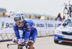 El ciclista Murilo Antonio Fischer Imagenes de archivo