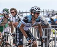 El ciclista Peter Velits Imagen de archivo