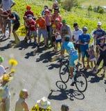 El ciclista Vincenzo Nibali - Tour de France 2016 Foto de archivo libre de regalías