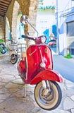 El ciclomotor Foto de archivo libre de regalías
