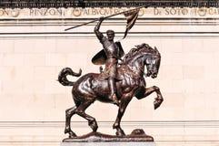 El Cid Equestrian Statue Stock Photography