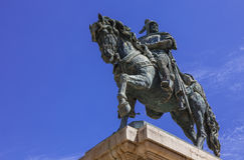 El cid - Spanish hero. Royalty Free Stock Photo