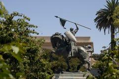 El Cid Statue Stock Image