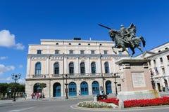 El Cid Statue in Burgos, Spain Royalty Free Stock Images