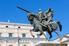 El Cid Statue in Burgos, Spain Royalty Free Stock Photo