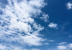 El cielo Imagen de archivo