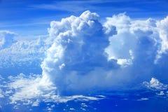 El cielo azul Fotografía de archivo libre de regalías