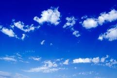 El cielo azul. Fotos de archivo libres de regalías
