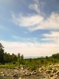 El cielo azul Fotografía de archivo