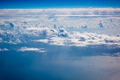 El cielo azul Imágenes de archivo libres de regalías