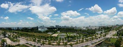 El cielo azul en la luz del día Fotos de archivo libres de regalías