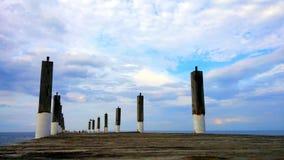 El cielo azul no me molesta Imagenes de archivo