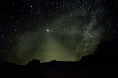 El cielo de la estrella Fotografía de archivo