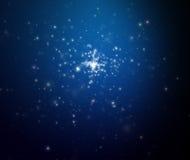 El cielo de la estrella de la noche. Espacio abierto Foto de archivo libre de regalías