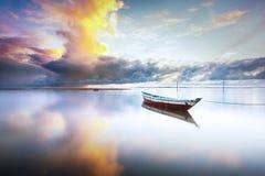 El cielo de la mañana Foto de archivo libre de regalías