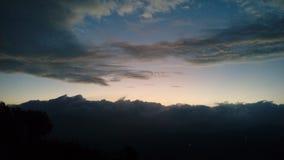 El cielo de la mañana Foto de archivo