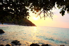 El cielo de la playa TA-Yaii Fotos de archivo libres de regalías
