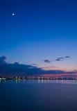 El cielo de la tarde Fotos de archivo