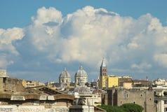 El cielo de Roma Imagen de archivo libre de regalías
