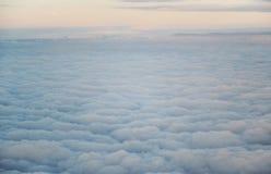 El cielo del avión Fotografía de archivo libre de regalías