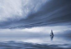 El cielo dramático Imagen de archivo libre de regalías