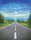 El cielo es el límite Fotos de archivo libres de regalías