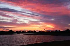 El cielo es una paleta de colores imagen de archivo libre de regalías