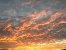 El cielo ha terminado foto de archivo