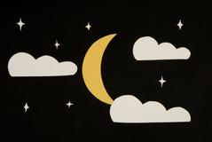 El cielo nocturno Fotografía de archivo libre de regalías