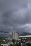 El cielo nublado Imagen de archivo libre de regalías