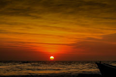 El cielo pintado Foto de archivo libre de regalías