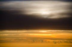 El cielo por la mañana Fotografía de archivo