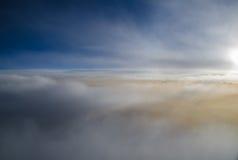 El cielo por la mañana Foto de archivo libre de regalías