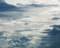 El cielo profundo insondable Imagen de archivo libre de regalías