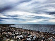 El cielo sobre el ¾ del  Ð?бРde la bahía Ð Imagen de archivo