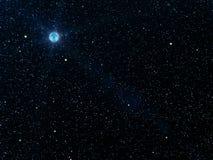 El cielo stars los planetas Foto de archivo libre de regalías