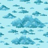 El cielo y las nubes Vector Foto de archivo libre de regalías