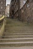 El cierre de Warriston, Edimburgo Fotos de archivo