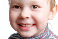 El cierre del niño para arriba Imagenes de archivo