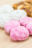 El cierre encima del caramelo chino o del caramelo chino asiático es un traditio Imagen de archivo libre de regalías